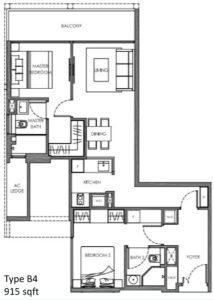 nyon-floor-plan-2-bedroom-type-b4-singapore