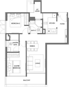 nyon-12-amber-2-bedroom-type-b3-singapore