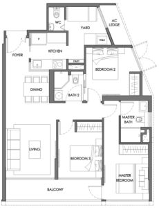 nyon-12-amber-3-bedroom-type-c1a-singapore