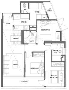 nyon-12-amber-3-bedroom-type-c1p-singapore